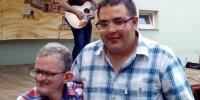 Jarko, Denis počas vystúpenia Tomáša Bezdedu