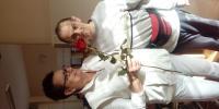Jozef darovanou ružou potešil Terku
