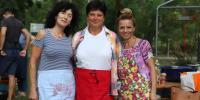 náš súťažný tím Editka, Julianna, Monika