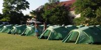 stanový tábor v našom domove