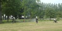 Zásah hasičov